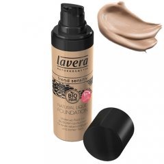 Lavera Trend Sensitiv Natural Liquid Foundation 01 Ivory Light,3