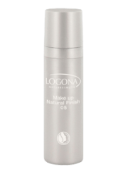 Logona Natural Finish Foundation 05 warm beige, 30ml