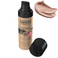 Lavera Trend Sensitiv Natural Liquid Foundation 02 Ivory Nude, 3