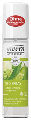 Lavera Deo Spray Limone & Verveine, 75ml