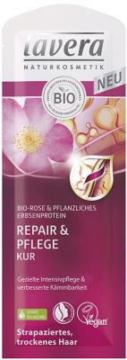 Lavera Repair & Pflege Kur, Rose 10 x 20ml