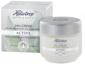 Heliotrop Active 24h-Creme, 50ml