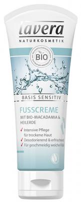 Lavera Basis Sensitiv Fußcreme 75ml