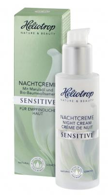 Heliotrop Sensitive Nachtcreme, 50ml