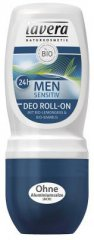 Lavera Men Sensitiv 24h Roll on Deo, 50ml